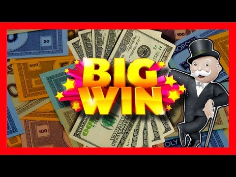 Monopoly Up Up And Away Slot Machine Bonus - Big Win video