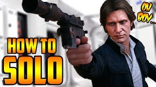 Star Wars Battlefront 2: How to Not Suck - Han Solo Hero Guide and Review