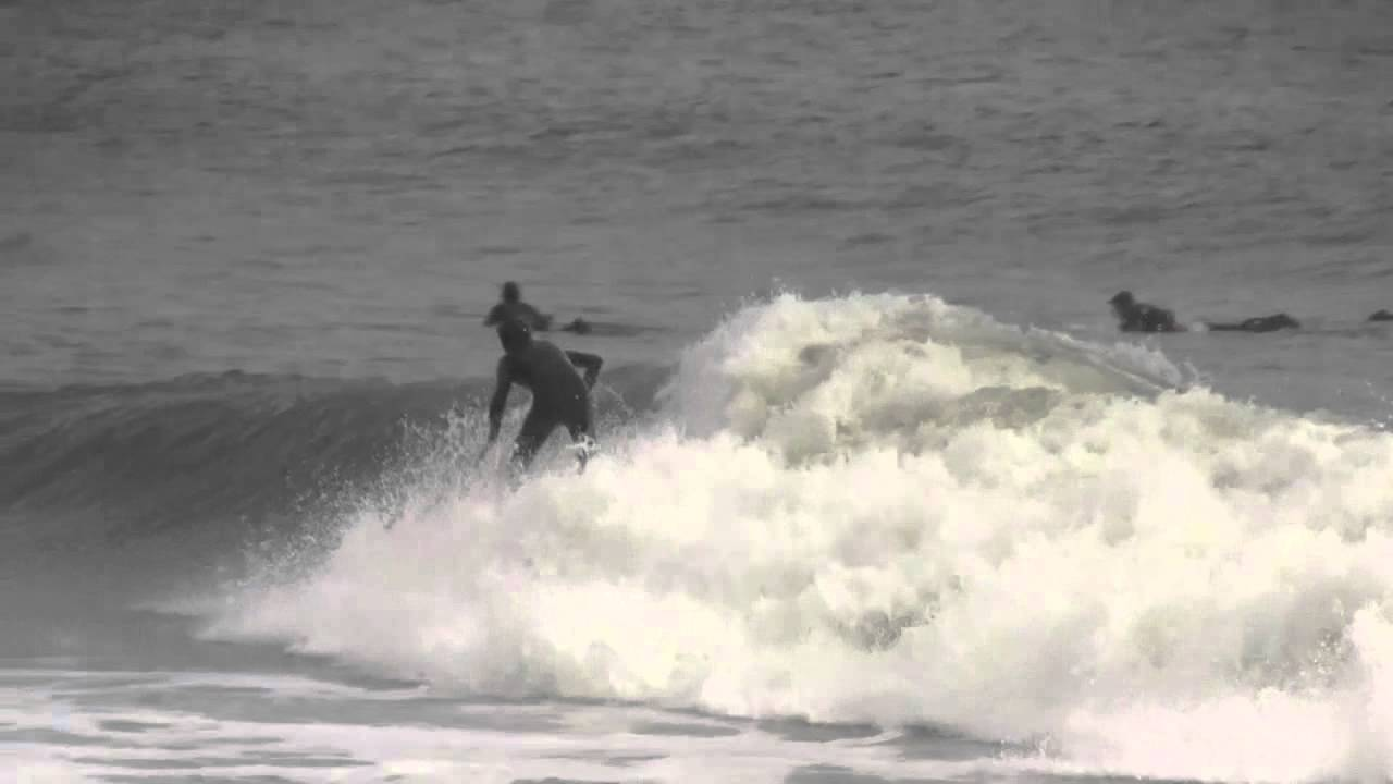 Surfing the half moon bay jetty youtube for Half moon bay fishing report