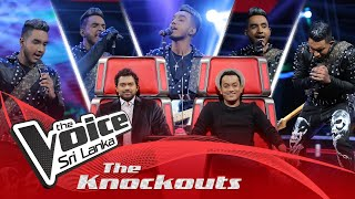 Daham Fernando | Danuna The Knockouts | The Voice Sri Lanka