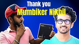 Thank you Mumbiker Nikhil |Mivi Collar Earphone Review after 50 Days| Should you Buy?