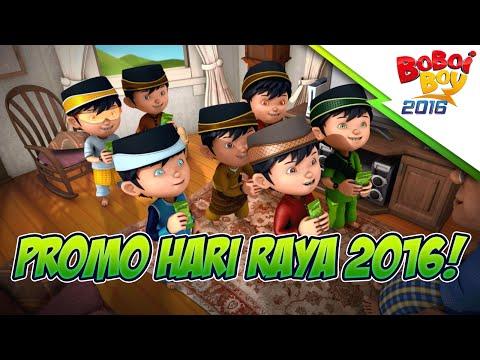 BoBoiBoy: Promo Raya 2016!