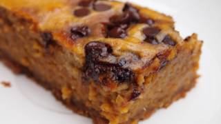 100-Calorie Pumpkin Pie Bars | Sarah Dussault
