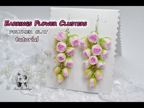 Мастер класс полимерная глина цветы - Kuente.ru