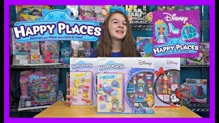 Shopkins Disney Happy Places Welcome Packs * Belle * Cinderella * Minnie Mouse *