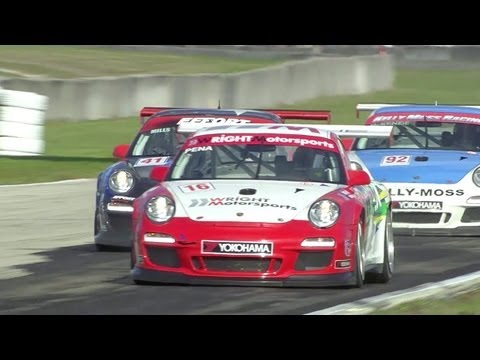 Porsche IMSA GT3 Cup Challenge by Yokohama - Races 1 & 2, Sebring 2012