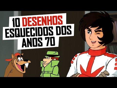 10 DESENHOS ESQUECIDOS DOS ANOS 70