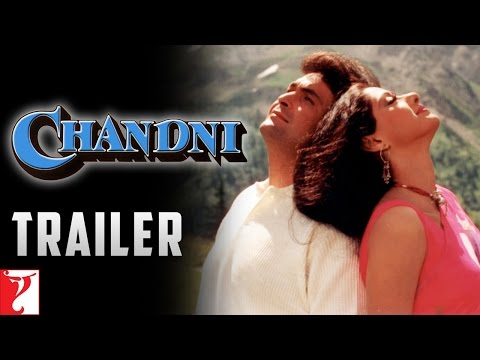 CHANDNI - Trailer HD | Sridevi | Rishi Kapoor | Vinod Khanna