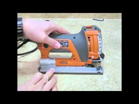 RIDGID Compact Orbital Jig Saw R3100 - Review