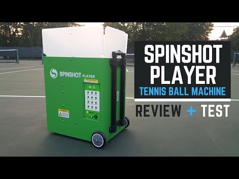 tennis machine reviews