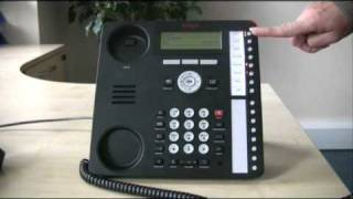 Putting a call on hold - Avaya IP Office 1616 series telephone