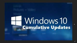 Fixit Windows 10 Cumulative updates Released September 20th 2018 lots of bug fixes