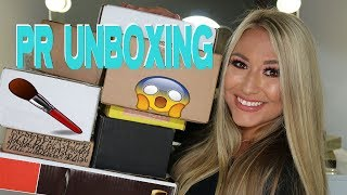 PR UNBOXING! WHATS NEW IN MAKEUP