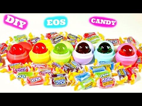 DIY EOS Jolly Ranchers Lollipops Candy Edible EOS| B2cutecupcakes