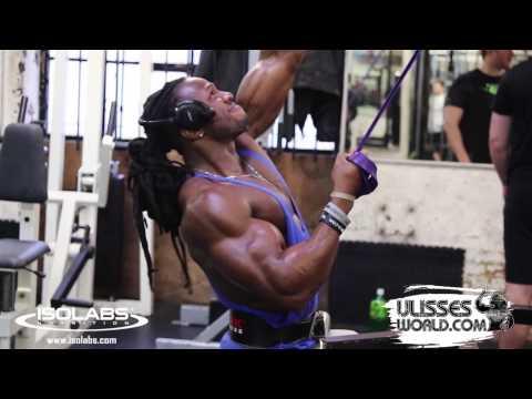 Ulisses Jr Training Back at MuscleWorks Gym