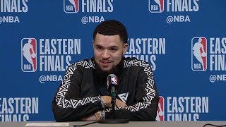 Fred VanVleet Postgame Interview - Game 5 | Raptors vs Bucks | 2019 NBA Playoffs