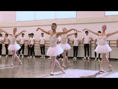 The School of American Ballet is one of the finest in the world. This profile of the school is a snap shot of what it takes to become a professional dancer.