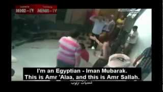 Man Slaps Female Host (Egyptian 'Israeli' TV Prank Goes Bad)
