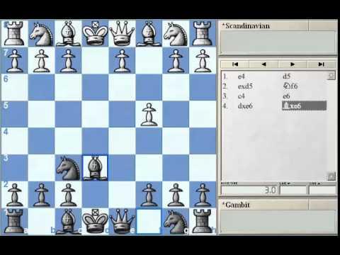 GM Alterman's Gambit Guide - Scandinavian Part 3 at Chessclub.com