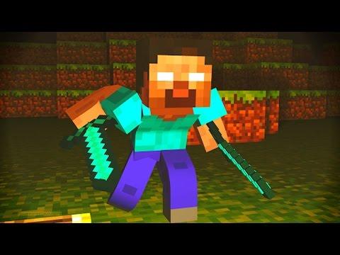 Minecraft 1.8 HEROBRINE PARKOUR! with Vikkstar & PrestonPlayz