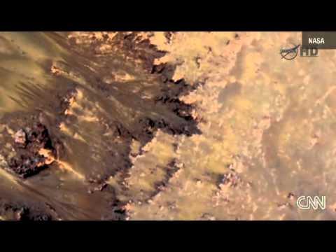 Mars Water?....NASA finds water on Mars (not a joke)