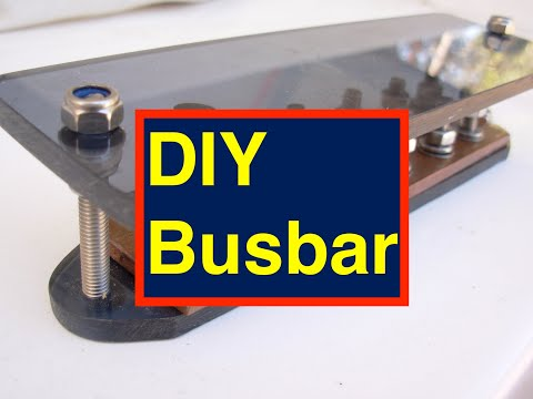 how to connect a common busbar