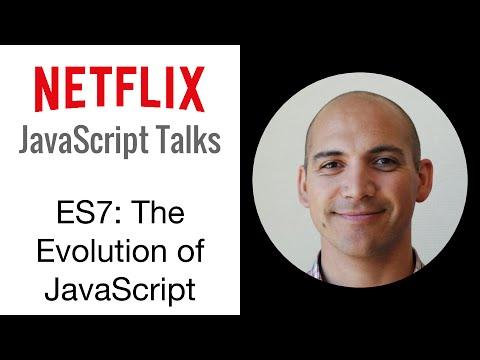 Netflix Javascript Talks - Version 7: The Evolution Of Javascript video