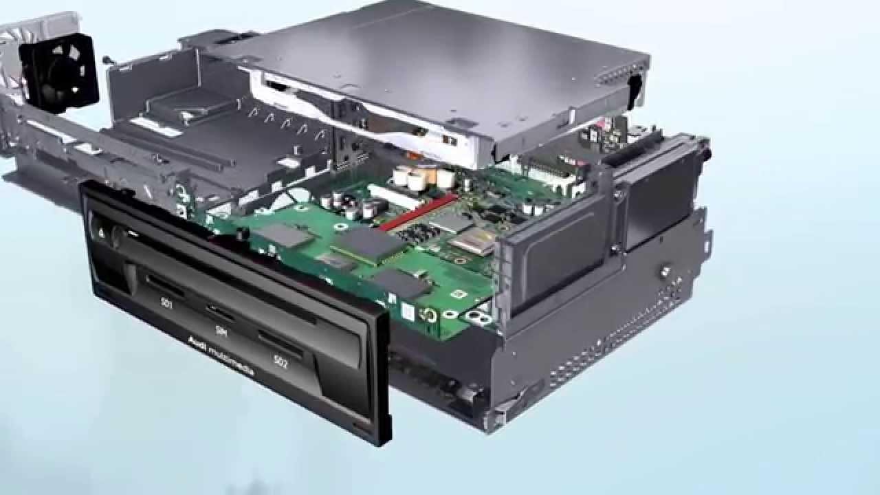 Audi A3 Modular Infotainment Platform Powered By Nvidia