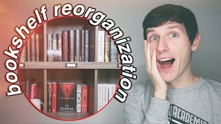 REORGANIZING MY BOOKSHELF | READER VLOG