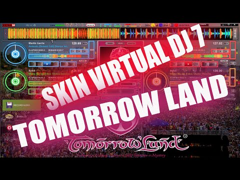 DESCARGA SKIN VIRTUAL DJ 2014 TOMORROW LAND PREVIEW