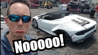 My Brand New Lamborghini Was Crashed Too!