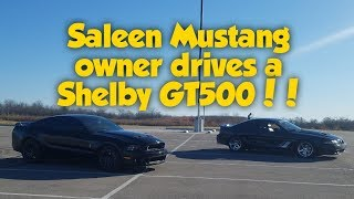 "Saleen Mustang Owner ""S Bomb"" Drives the Shelby GT500"