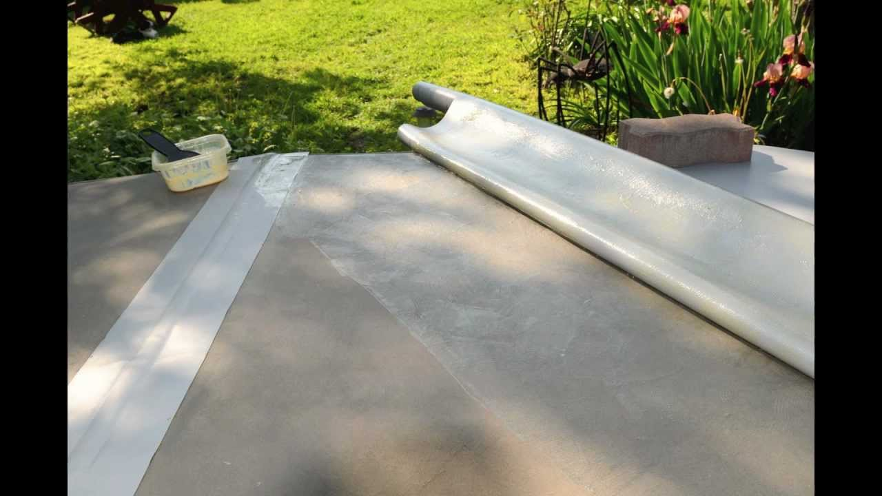 Hot Tub Vinyl Top Repair Re Cover 85 Youtube