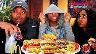 BK & McDonald's Burgers /Darius tells an hilarious story time @ 9:00