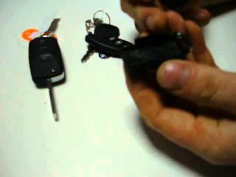 Выкидной ключ своими руками с сигнализацией