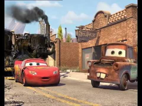 Arabalar - Şimşek Mcqueen Ünlü Bir Yarış Arabası!