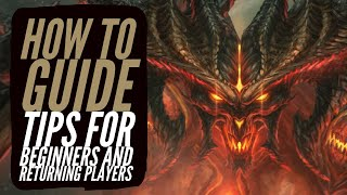 Diablo 3 - Tips for Beginners and Returning Players