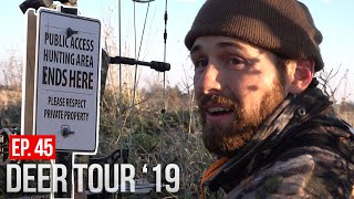 Dealing with HUNTING PRESSURE on Iowa Public Land!