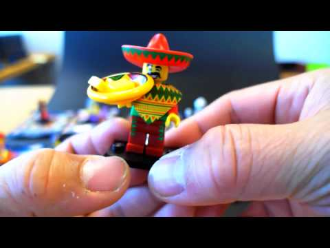 BUMP CODES for Lego Minifigures Series 12 - PART 1 of 2 videos from upcoming THE LEGO MOVIE