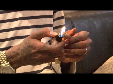 Wiz Khalifa Lights Up HIGH TIMES
