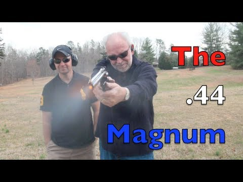 The Powerful 44 Magnum Revolver