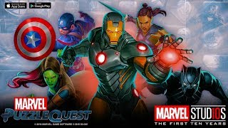 Marvel Puzzle Quest - Ten Years of Marvel Event - Live Stream - Universal