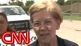 Elizabeth Warren: Immigration facility a disturbing picture