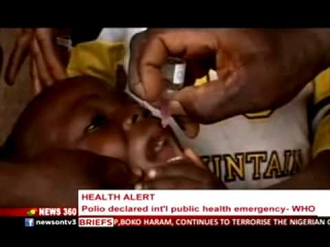 News 360 - Polio declaresd Public Health Emergency by WHO - 6/5/2014