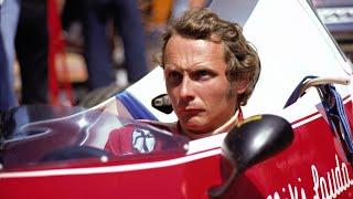 Lauda é um dos símbolos de como era o automobilismo nos anos 70