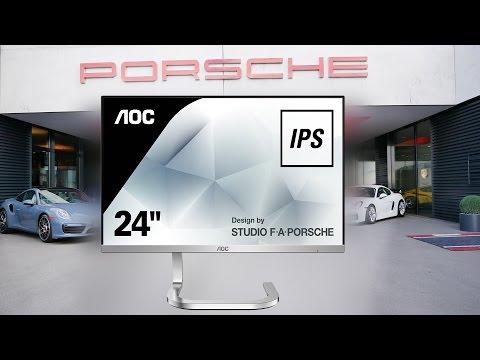 Новые и стильные мониторы AOC и  Porsche Desing
