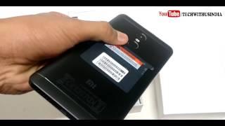 My Best colour Redmi Note 4 (Black, 64 GB) (4 GB RAM) Unboxing !!!