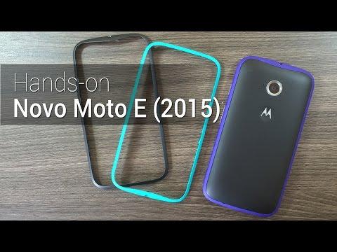 Hands-on: Novo Moto E | Tudocelular.com