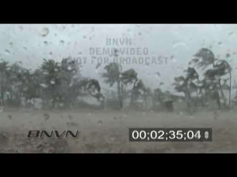 8/25/2005 Hurricane Katrina, Miami, Florida, part 1 of 3