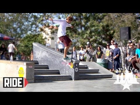 Sebo Walker & More Destroy Skateboarder Magazine's Make-A-Wish Jam 2012: SPoT Life Event Check